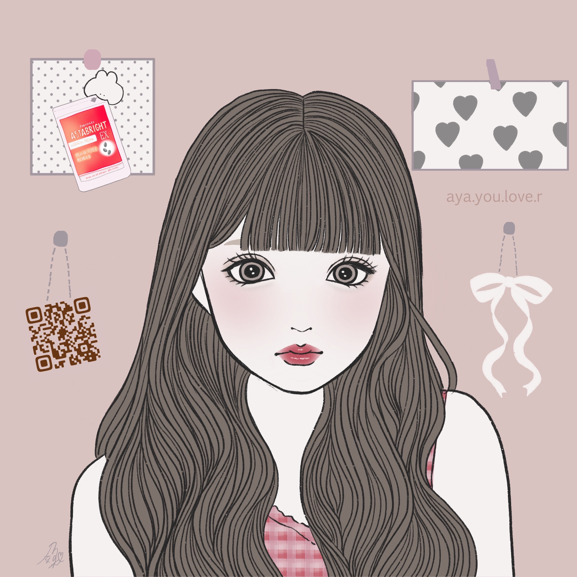 可愛い 女の子 イラスト